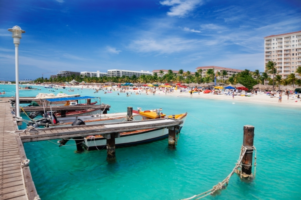 Viator Photo ID: 22699 / Orig name: Aruba_PalmBeach_shutterstock_100211285.jpg / Source Type: Shutterstock / Source ID: 100211285 / Tags: Caribbean, Aruba, Aruba, Palm, Beach / Uploaded by: import /